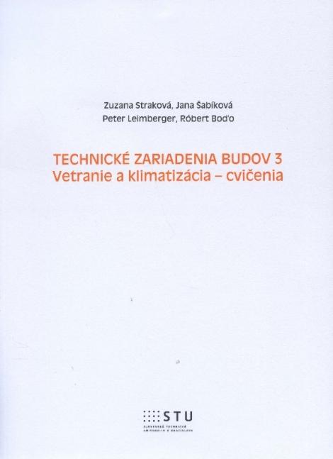 Technické zariadenia budov 3 - Zuzana Straková