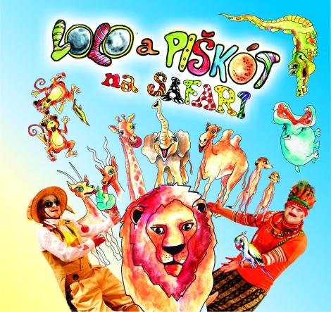 Lolo a Piškót: Na safari