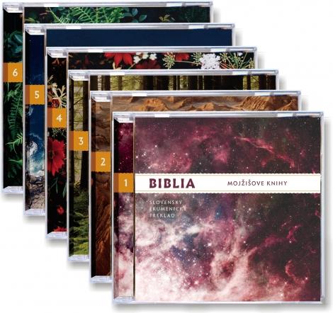 Biblia - Komplet (6xCD-ROM)