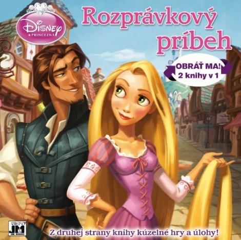 Rozprávkový príbeh / Kúzelné hry a úlohy - Princezná - Obráť ma! 2 knihy v 1