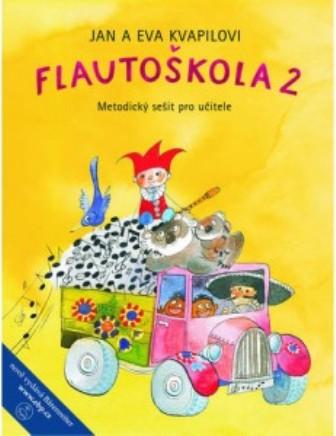 Flautoškola 2 - Jan Kvapil, Eva Kvapilová