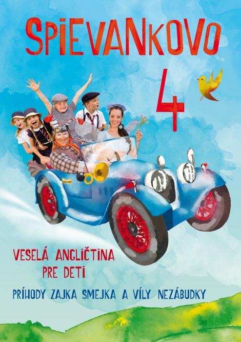Spievankovo 4 - DVD - veselá angličtina pre deti