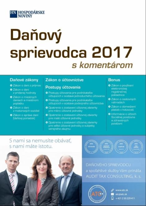 Daňový sprievodca 2017