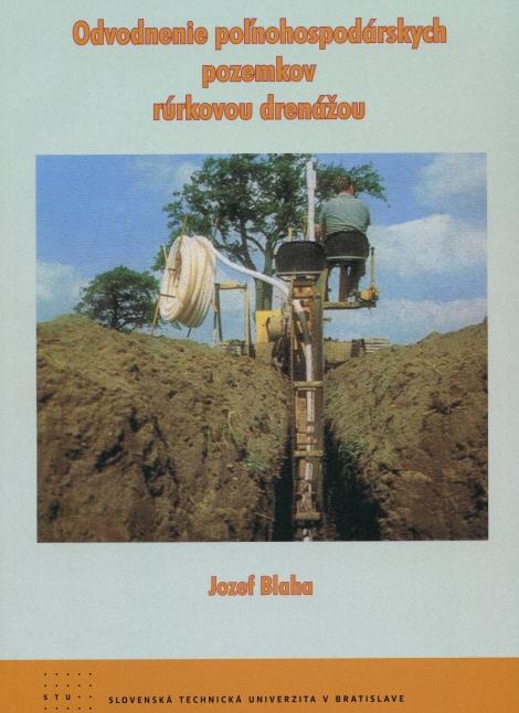 Odvodnenie poľnohospodárskych pozemkov rúrkovou drenážou -