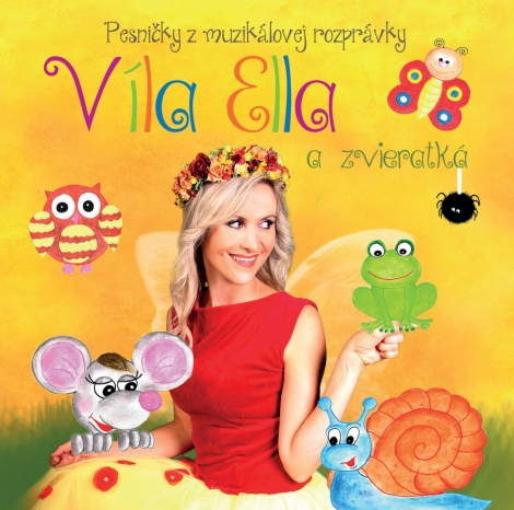 Víla Ella a zvieratká - CD - Elenis